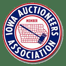 Iowa Auctioneers Association Round Logo