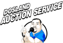 Dosland Auction Service Website Logo