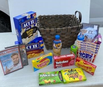 Candy, popcorn, and other movie treats