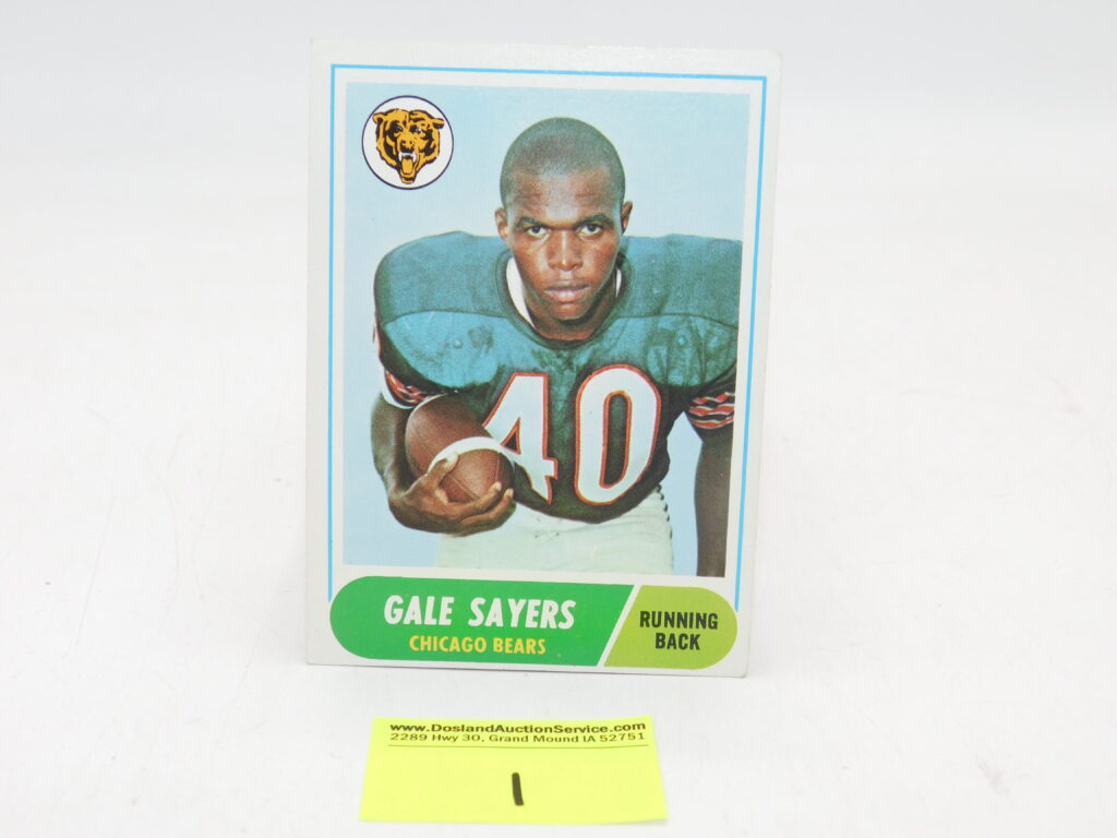 Gale Sayers Football Card