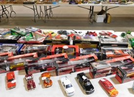 collectible toy cars and semis